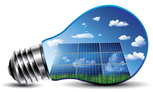 ... converting sunlight into electricity is called the photovoltaic effect